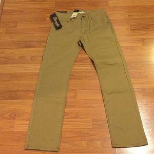 NWT Wrangler Khaki/Tan Pants